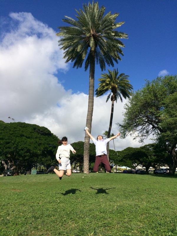 青空ジャンプ勝負(1)